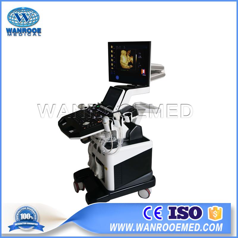 USC900 Medical Diagnostic 4D Color Doppler Trolley Ultrasound Machine