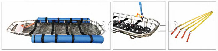 Stainless Steel Basket Stretcher, Basket Stretcher, Rescue Basket Stretcher, Helicopter Basket Stretcher