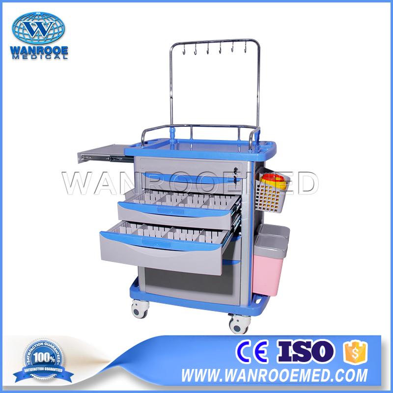 Clinic Medicine Trolley, Medicine Trolley, Medicine Cart, Hospital Medicine Trolley, Medical Medicine Trolley