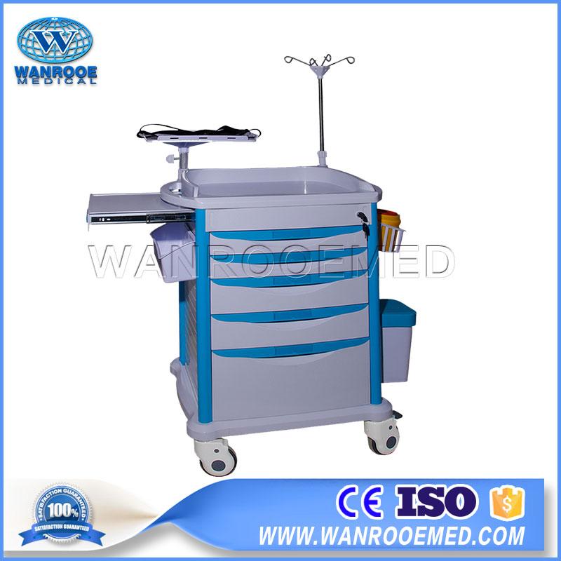 Crash Cart,Emergency Trolley,Anesthesia Cart,Cast Cart,Mobile Crash Cart