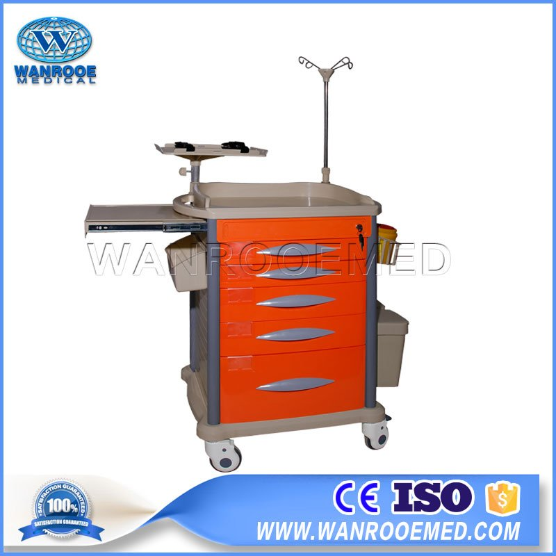 Medical Trolley Cart,ABS Cart,ABS Medical Trolley,Anesthesia Cart,Hospital ABS Cart