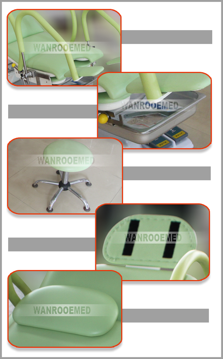 Gynecology Examination Table, Hospital Obstetric Chair, Obstetric Chair, Gynecology Chair, Portable Gynecology Chair