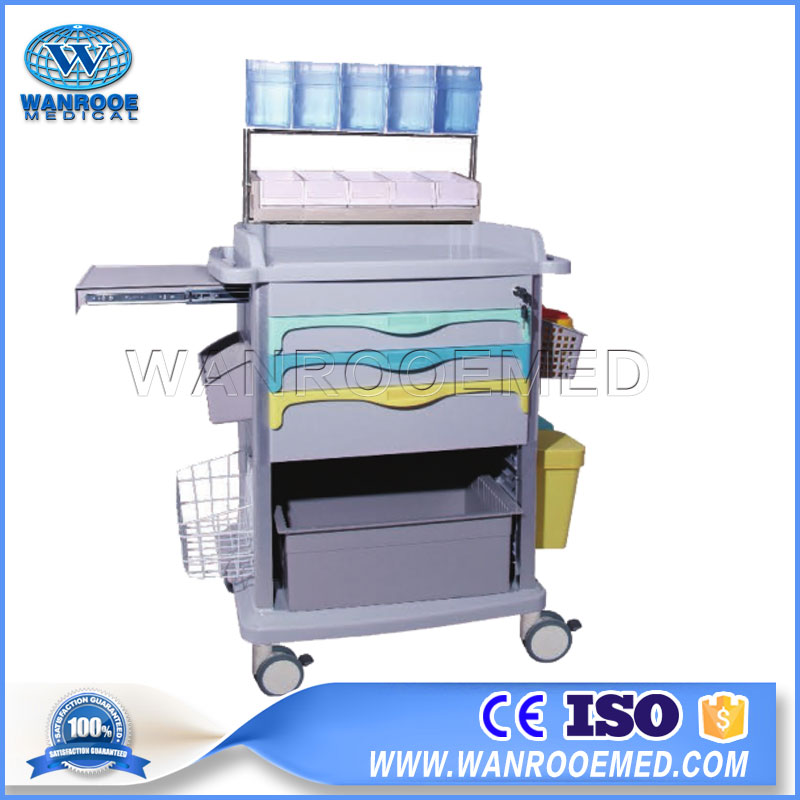 Medical Surgery Trolley, Hospital Patient Cart, Emergency Trolley, Surgery Cart, Patient Cart