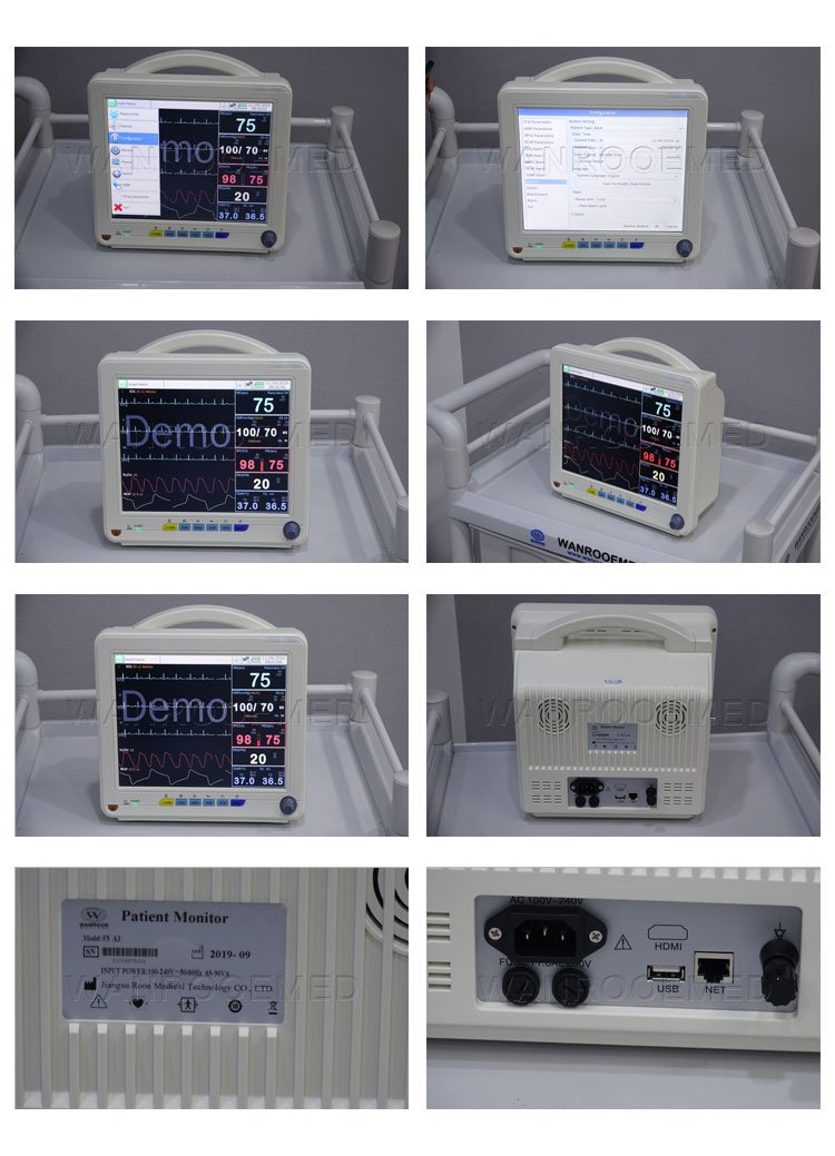 Ambulance Patient Monitor, Multi Parameter Patient Monitor, Patient Monitor