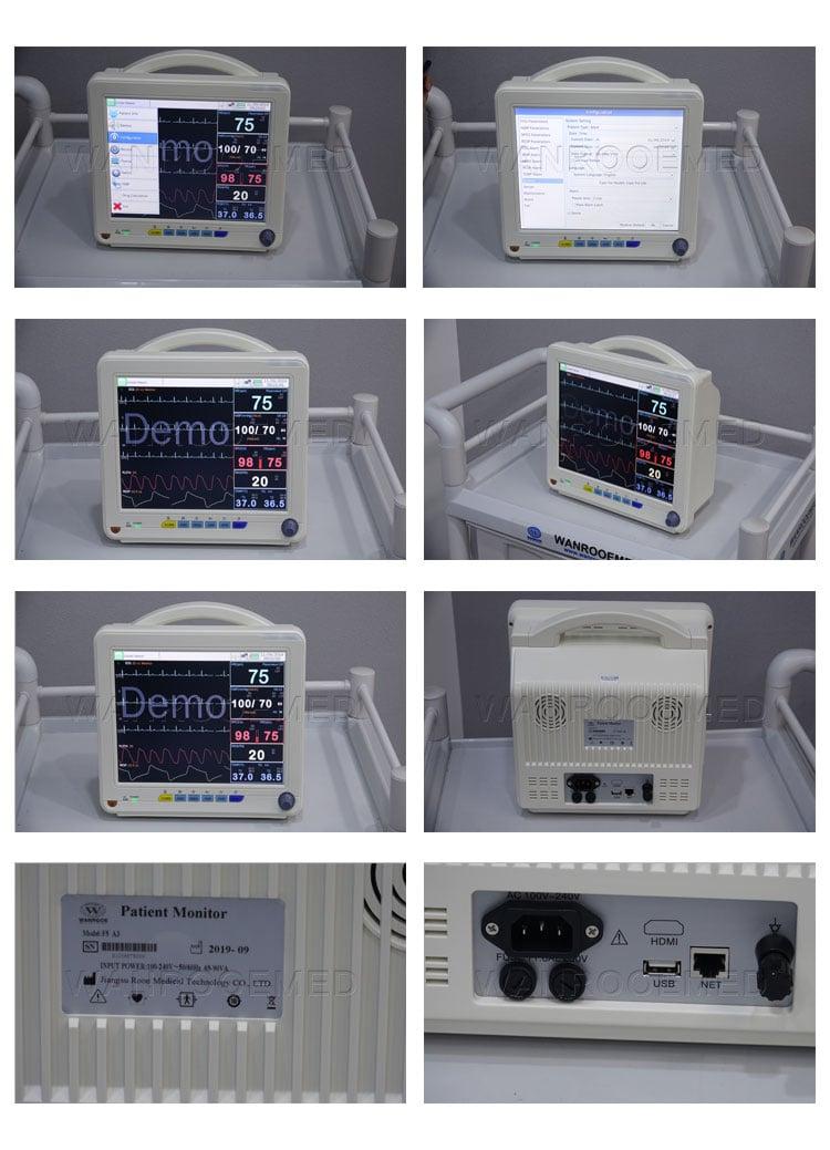 Ambulance Patient Monitor, Multi Parameter Patient Monitor, Patient Monitor
