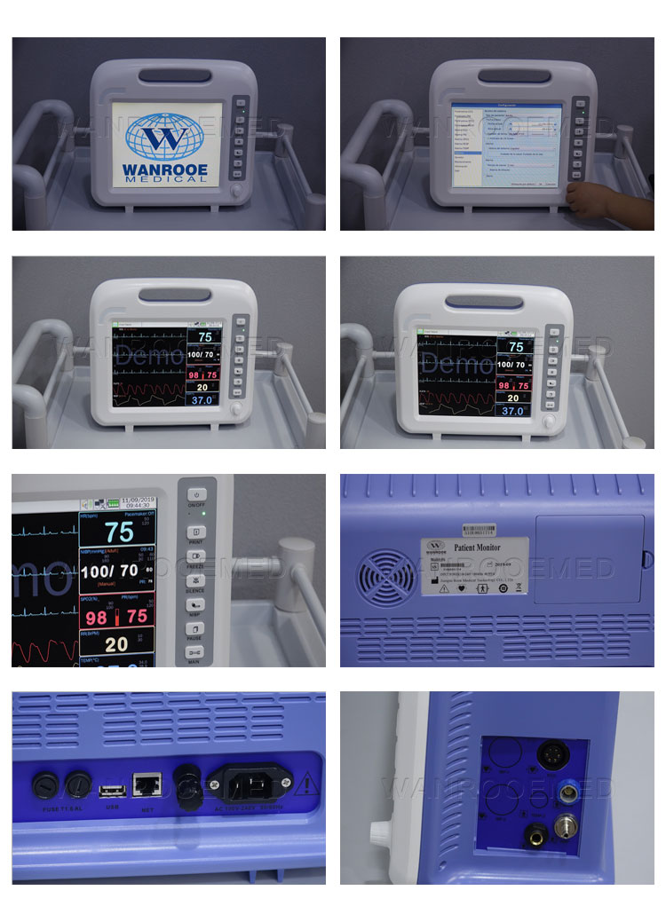 Hospital Patient Monitor, Patient Monitor, Multi-Parameter Patient Monitor, Operating Room Patient Monitor