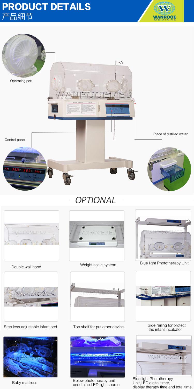 HB100 Hospital Equipment Infant Warmer Neonatal Incubator