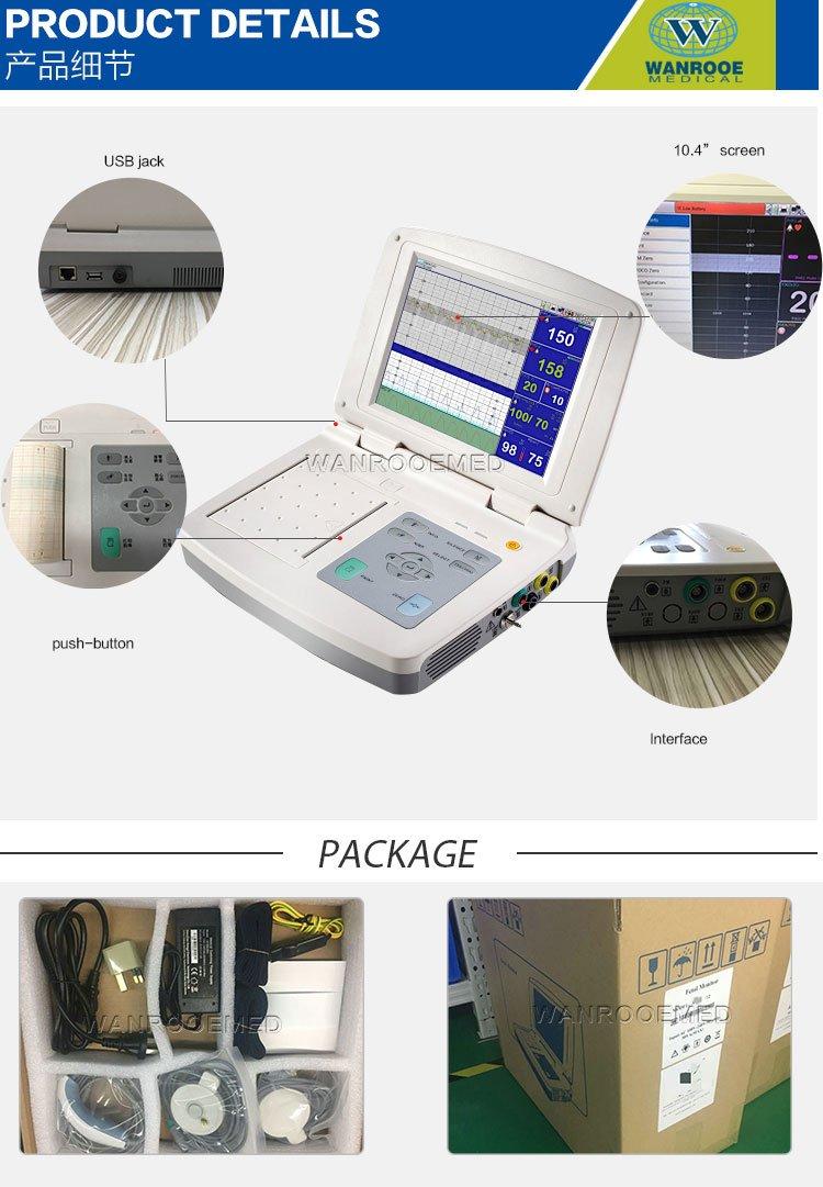 Fetal Heartbeat Monitor, Fetal Monitor, Handheld Fetal Monitor, Digital Fetal Monitor
