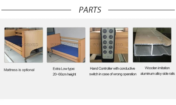 Home Care Hospital Bed, Patient Nurse Bed, Electric Nurse Bed, Patient Care Bed, Electric Homecare Bed