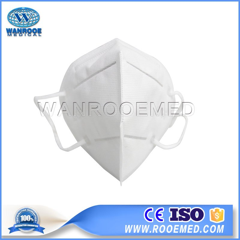 KN95 Face Mask, With Inside Aluminum Strip Nose Bridge, Earloop Face Mask, 4 Ply Face Mask