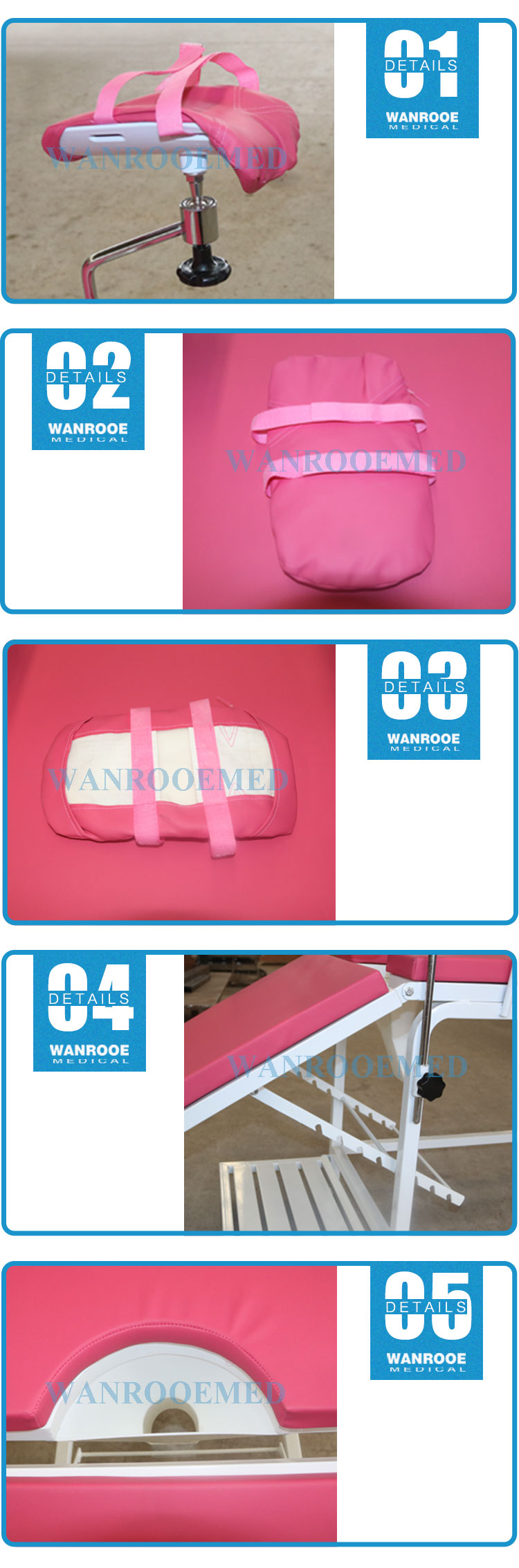 Obstetric Delivery Table, Stainless Steel Delivery, Delivery Table