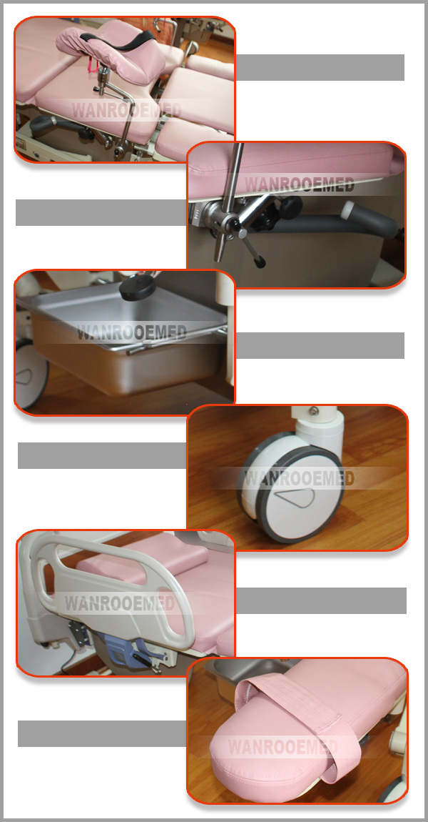 Gynecology Bed, Electric Birthing Bed, Obstetric Delivery Bed