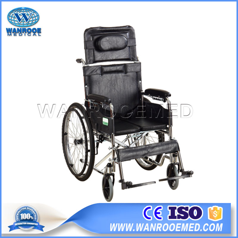 Adjustable Wheelchair, Disabled Elderly Wheelchair, Aluminium Wheelchair
