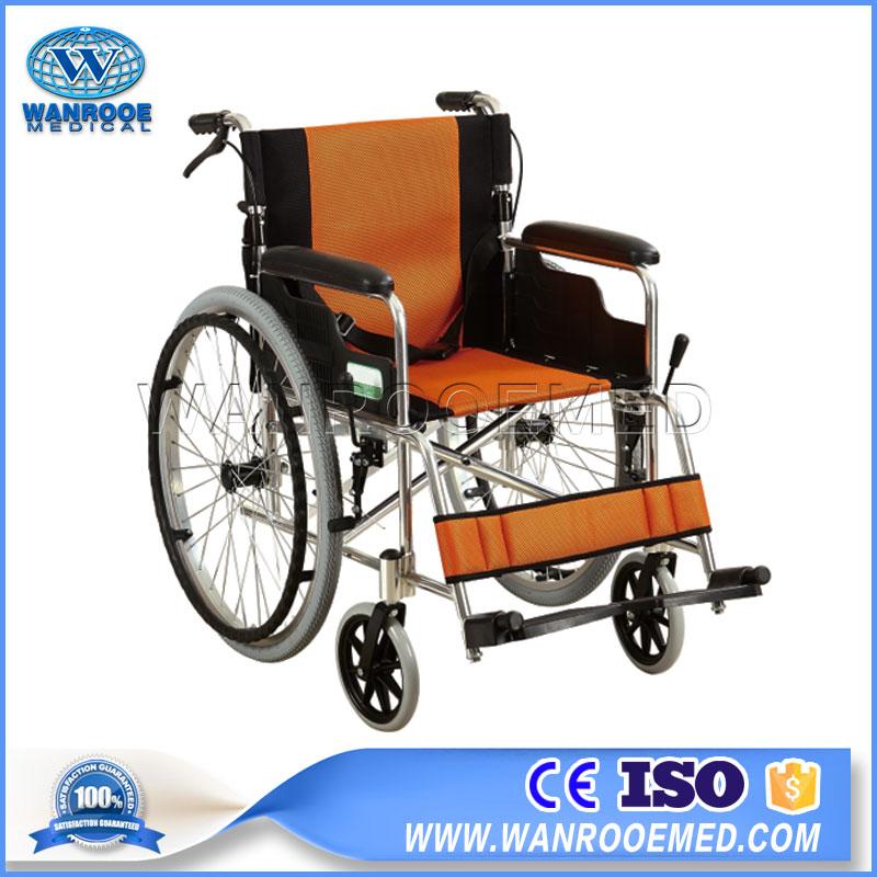 Lightweight Wheelchair, Manual Wheelchair, Aluminum Wheelchair