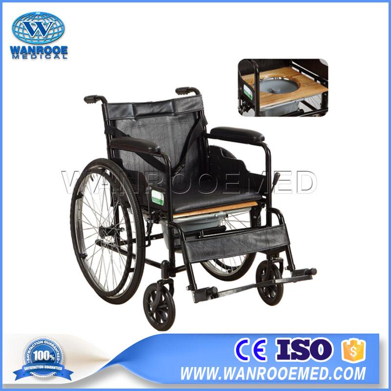 Lightweight Wheelchair, Hospital Wheelchair, Disabled Patient Wheelchair