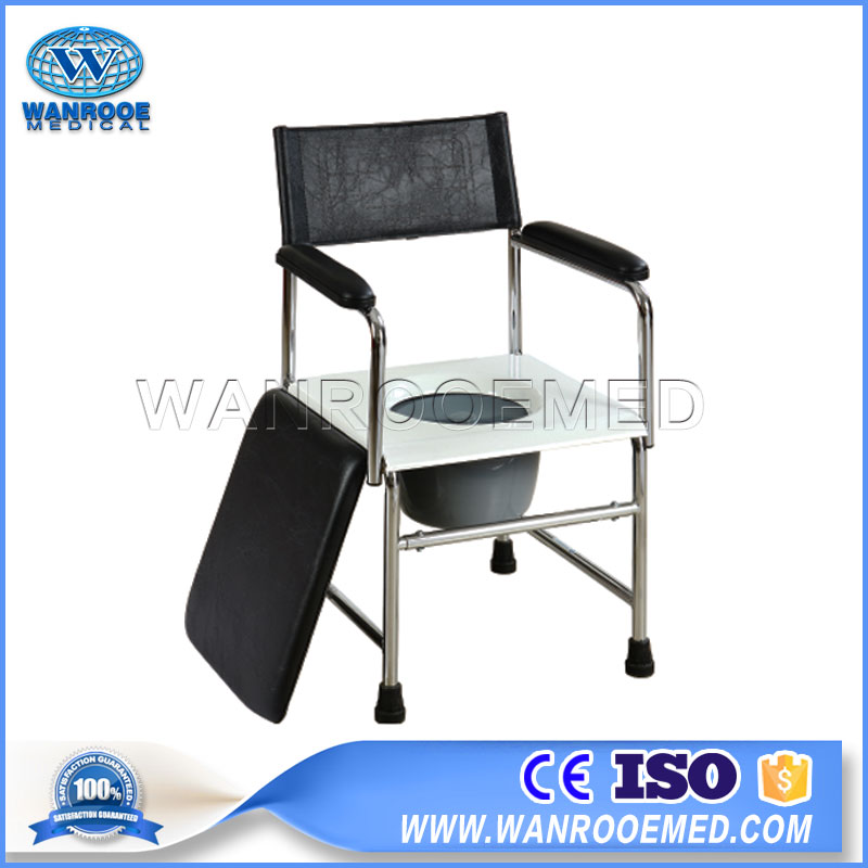 Commode Toilet Chair, Indoor Used Chair, Home Care Chair