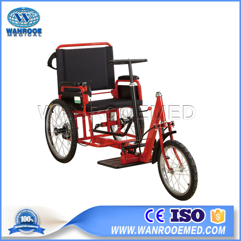 Handcycle Wheelchair, 3-wheel Rollator Chair, Disabled people Used Wheelchair