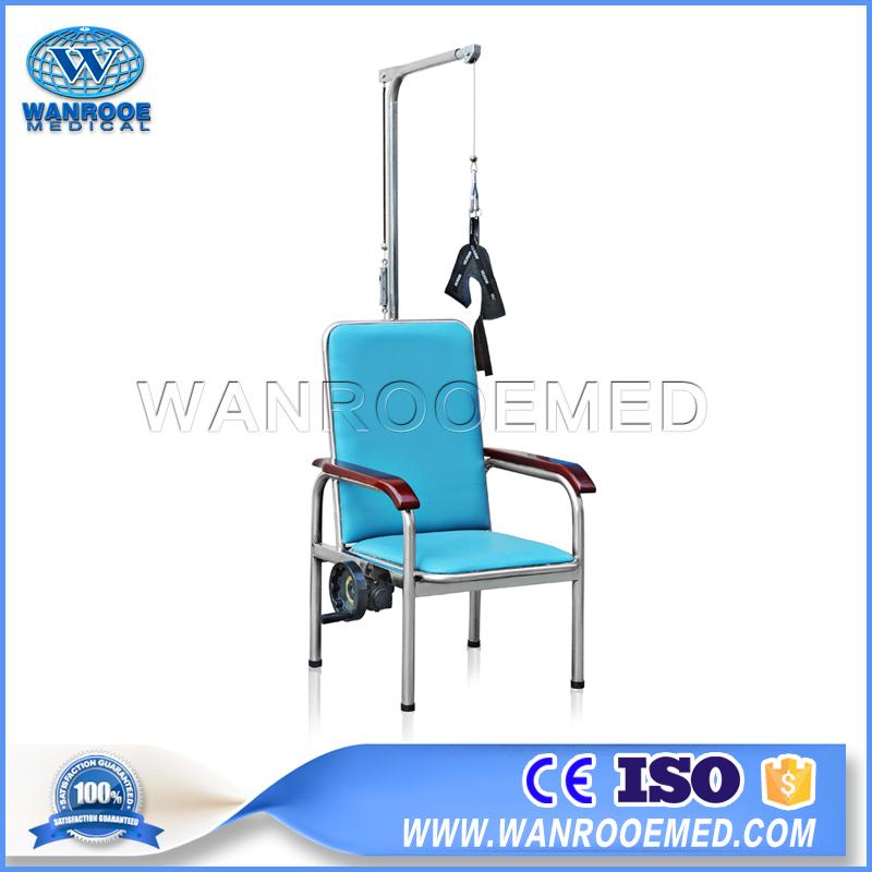 Traction Chair, Vertebra Recovery Treatment, Cervical Recovery Treatment, Hospital Chair