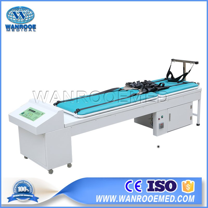 Patient Traction Bed, Cervical and Lumbar Traction, Medical Rehabilitation, Therapy Treatment Bed
