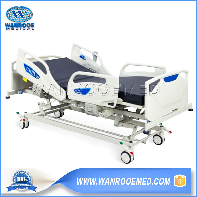 Electric Hospital Bed, Medical Electric Bed, 5 Function Hospital Bed, Adjustable Hospital Bed, Multi-Function Electric Bed