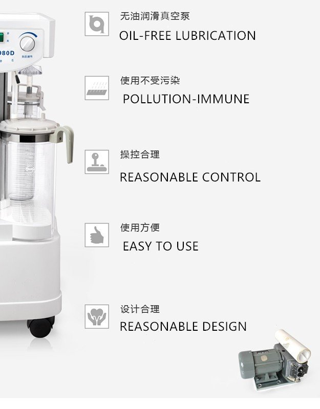 Portable Suction Machine, Hospital Suction Machine, Suction Unit, Electric Suction Unit, Suction Apparatus